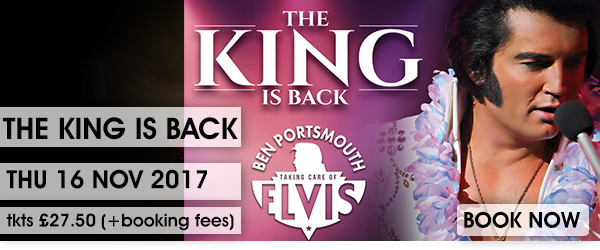 KING IS BACK BOOK NOWV